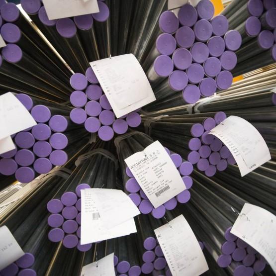 La production des tubes en acier