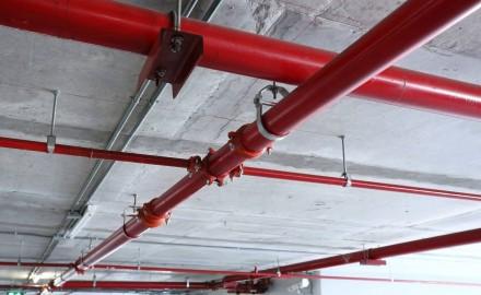 Tube chaudière utilisé dans un parking souterrain